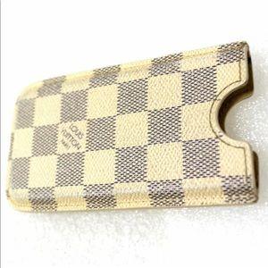 Louis Vuitton Damier Canvas Phone Case Holder
